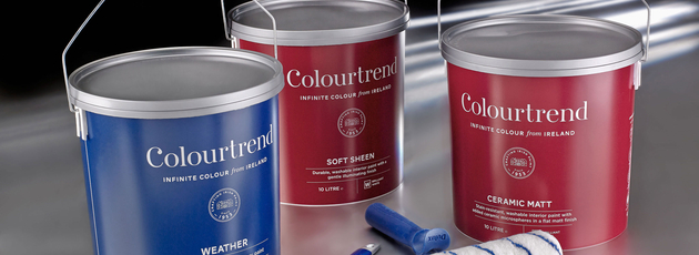 Colourtrend changes the look - but not the plastic bucket