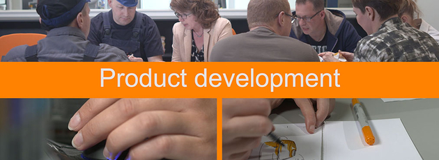 Innovative solutions through product development