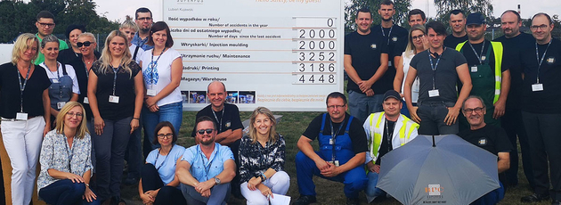 New safety record: 2,000 days at RPC Superfos Lubień