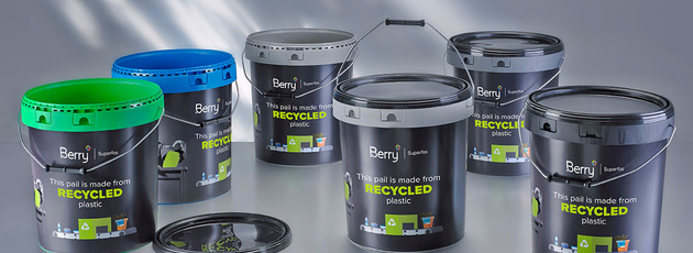 Sustainable solutions: top-quality PCR pails from Berry Superfos
